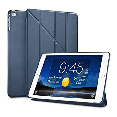 "Чехол Y-type Case (PU Leather + Silicone) для iPad 9.7"" (2017/2018) Dark Blue"
