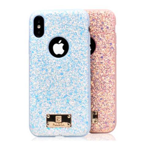 Чехол Puloka Shiny Texture для iPhone XS MAX White