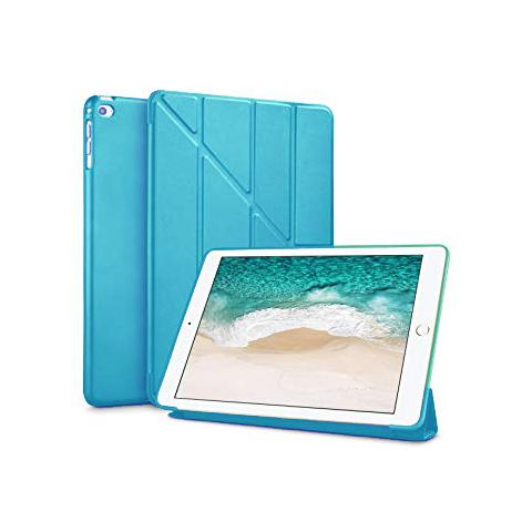 Чехол Y-type Case (PU Leather + Silicone) для iPad 4/ iPad 3/ iPad 2 Blue
