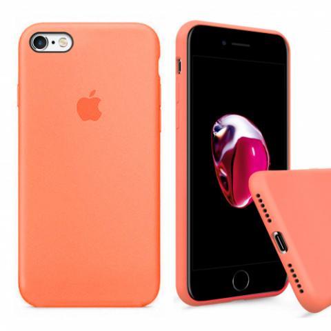 Чехол Full Silicone Case iPhone 6/6S - papaya
