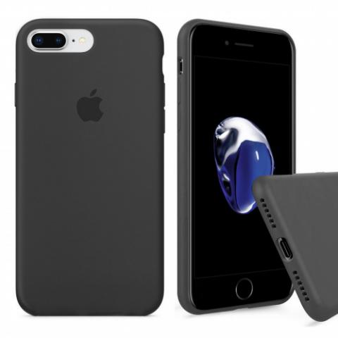 Full Silicone Case for iPhone 8 Plus/7 Plus - dark grey