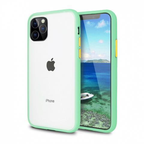 Противоударный чехол AVENGER для iPhone 12 Pro Max - Mint/Yellow