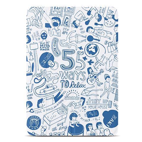 OZAKI O!coat-Relax 360° для iPad Air Blue (OC113BU)