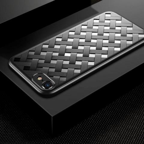 Чехол Baseus Paper-Cut Case for iPhone 8/7 Black (WIAPIPH8N-BG01)