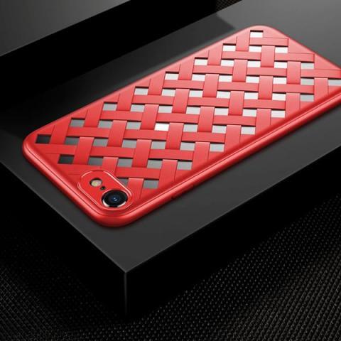 Чехол Baseus Paper-Cut Case for iPhone 8/7 Red (WIAPIPH8N-BG09)