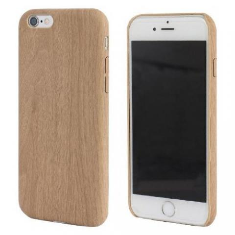 Чехол TPU Wooden Case for iPhone 6S/6 Beige
