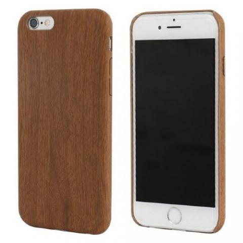 Чехол TPU Wooden Case for iPhone 6S/6 Brown