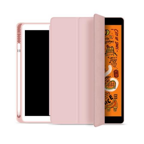 """Чехол Smart Case с держателем для стилуса для iPad Pro 12.9"""" (2020) - Pink Sand"""