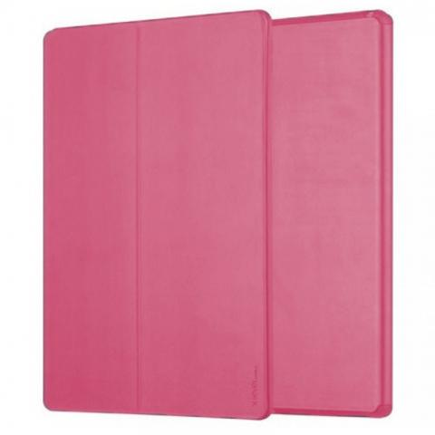 """Чехол Smart Case FIB color с держателем для стилуса для iPad Air 4 10.9"""" (2020) - Raspberry"""