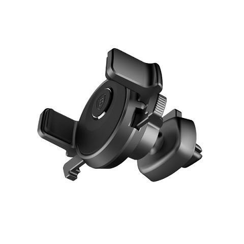 Автомобильный держатель Baseus Mechanical Era Clip 360 Rotation - Black