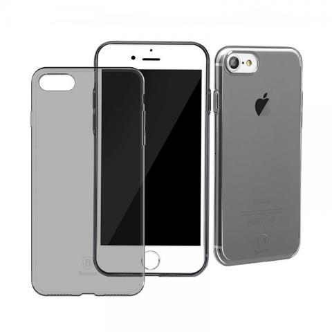 Чехол-накладка для Apple iPhone 7 Baseus Simple - Black