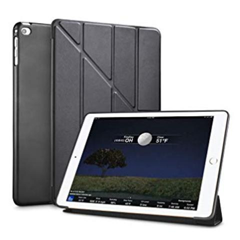 "Чехол Y-type Case (PU Leather + Silicone) для iPad 7 10.2"" (2019) - Black"