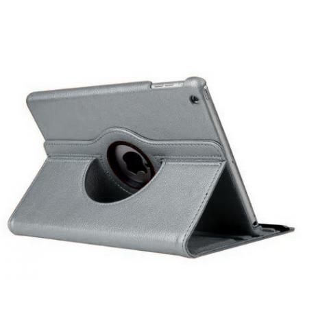 Поворотный чехол 360° Rotating Case для iPad 4/ iPad 3/ iPad 2 - Silver