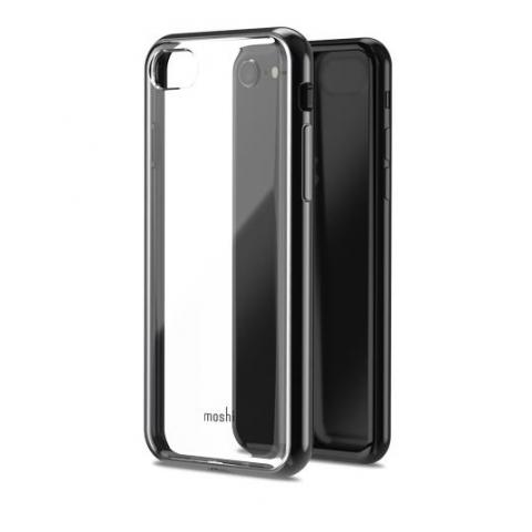 Чехол Moshi Vitros Clear Protective Case Raven Black for iPhone 8 Plus/7 Plus (99MO103033)