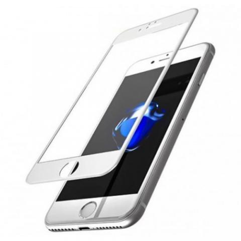 Защитное стекло 10D для APPLE IPHONE 6/6S - White