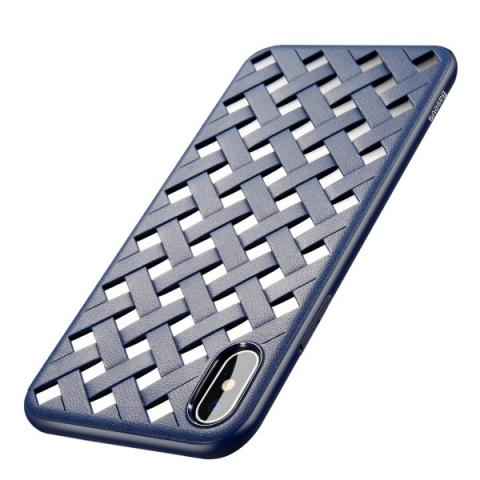 Чехол Baseus Paper-Cut Case for iPhone X Blue (WIAPIPHX-BG03)