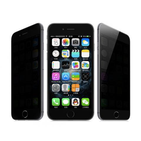 Защитное стекло анти-шпион Anti-Peeping для iPhone 8 Plus/7 Plus