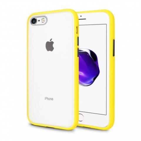 Противоударный чехол AVENGER для iPhone 7/8 - Yellow/Black