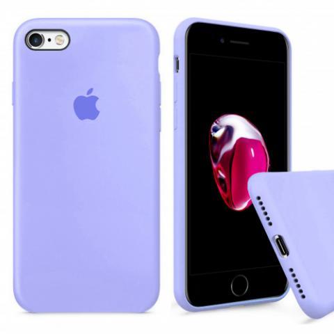 ехол Full Silicone Case iPhone 6/6S - фиалка