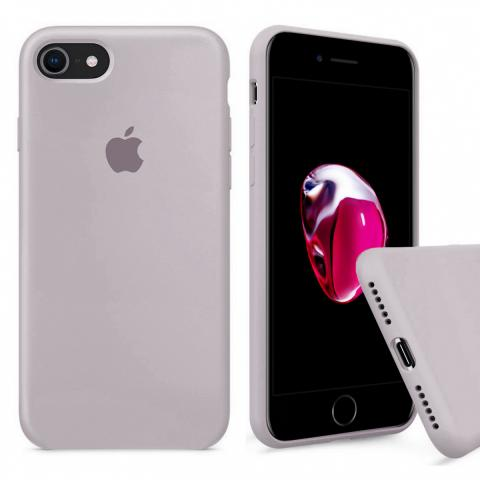 Full Silicone Case for iPhone 8/7 - Lavander