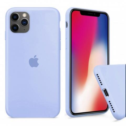 Чехол Full Silicone case для iPhone 11 Pro - Lilac