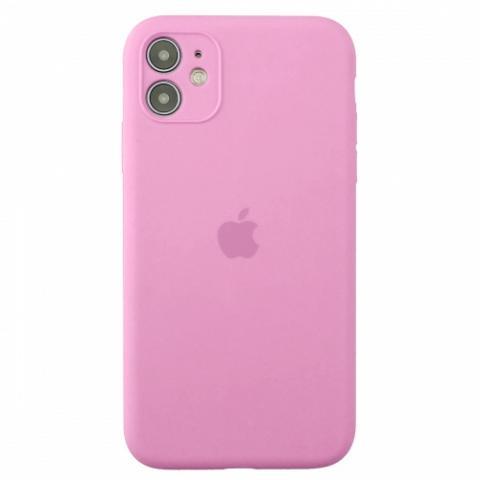 Чехол Silicone Case Full Camera для iPnone 11 - Pink