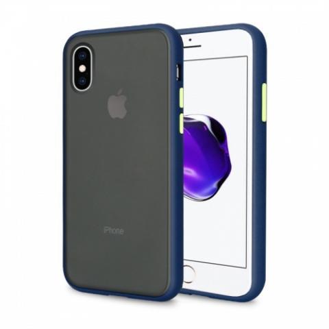 Противоударный чехол AVENGER для iPhone XS Max- Blue/Green