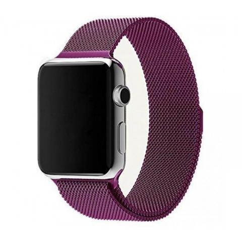 Ремешок Milanese Loop Purple для Apple Watch 42/44 mm