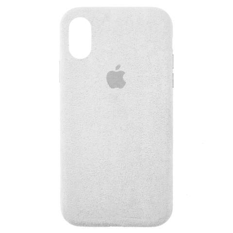 Чехол ALCANTARA для iPhone X/XS Stone