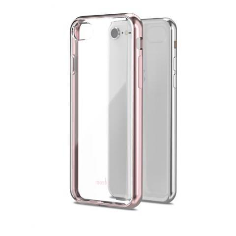 Чехол Moshi Vitros Clear Protective Case Orchid Pink for iPhone 8 Plus/7 Plus (99MO103253)