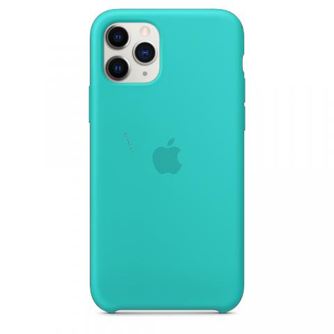 Apple Silicone Case для iPhone 11 Pro Max - Turquoise (Hi-Copy)