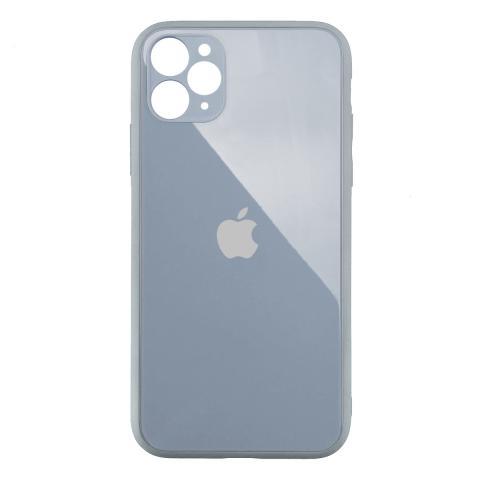 Стеклянный чехол с защитой для камеры для iPhone 11 Pro Stone