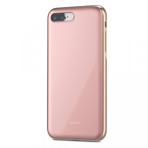 Чехол-накладка Moshi iGlaze для Apple iPhone 8 Plus/7 Plus розовый
