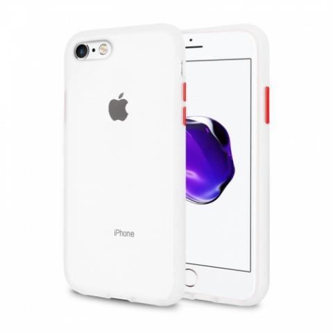 Противоударный чехол AVENGER для iPhone 7/8 - White/Red