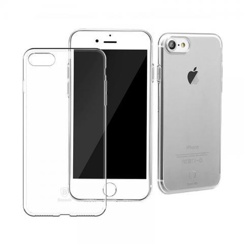 Чехол-накладка для Apple iPhone 7 Baseus Simple - Clear