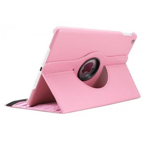 360° Degree Rotating Case для iPad Air - нежно-розовый