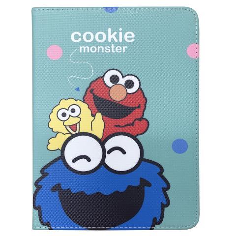 "Чехол Print Case для iPad 9.7"" (2017/2018) - Cookie Monster Blue"