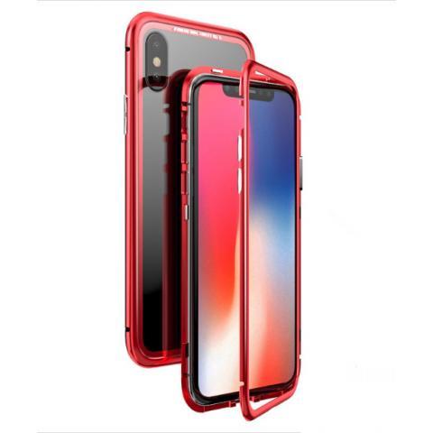 Магнитный чехол для iPhone XS Max Red