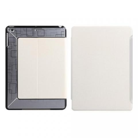 Чехол с орнаментом iBacks Flame белый для iPad Air