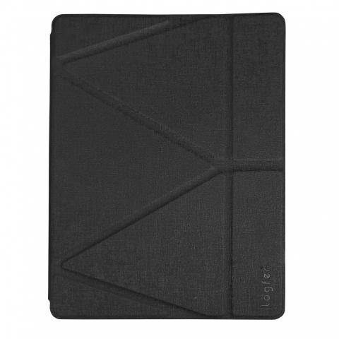 Чехол Logfer с держателем для стилуса для iPad Air - черный