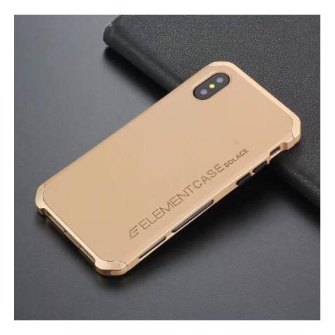 Чехол-накладка для iPhone XS Max Element Case Solace Gold