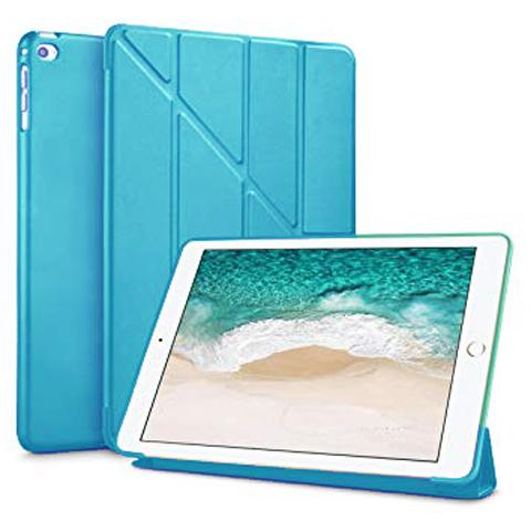 "Чехол Y-type Case (PU Leather + Silicone) для iPad 9.7"" (2017/2018) Blue"