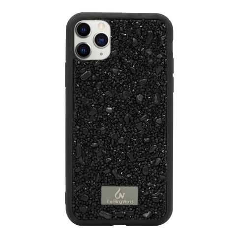 Чехол Bling World Pearl Diamonds (TPU) iPhone 11 Pro Black