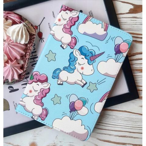 Чехол Print Case для iPad mini 5 (2019) - Unicorn Blue