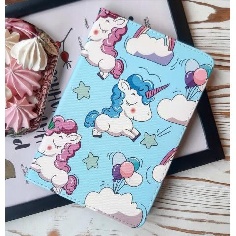 Чехол Print Case для iPad mini 4 - Unicorn Blue
