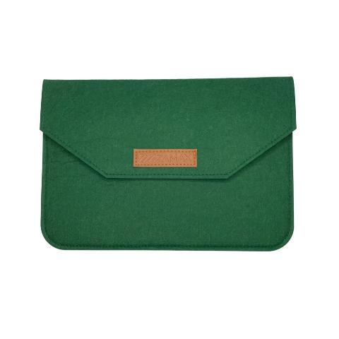 """Чехол из войлока для MacBook Air/Pro 13.3"""" - Green"""