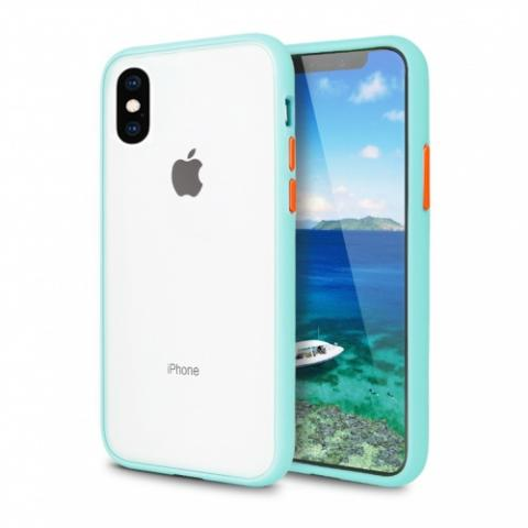 Противоударный чехол AVENGER для iPhone XR - Turquoise/Red