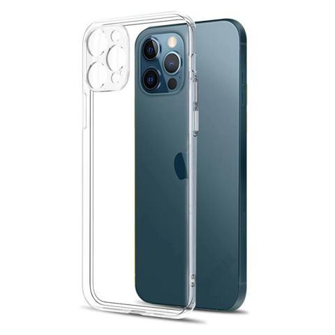 Прозрачный силиконовый чехол J-Case с защитой для камеры для iPhone 13