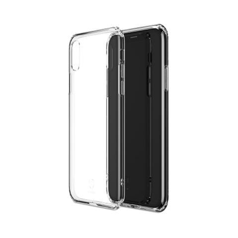 Силиконовый прозрачный чехол для iPhone X