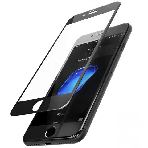 Защитное стекло 10D для APPLE IPHONE 7/8 - Black